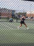 Tackett Wins for Girls Tennis at Yorktown