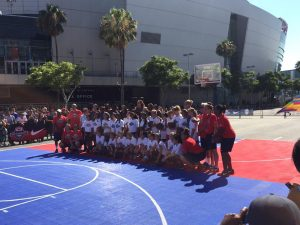 Portola Girls Basketball Meets USA Women's Team