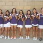 Portola High School Girls Freshman Tennis beat Sage Hill High School 9-5