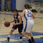 Portola High School Girls Freshman Basketball beat Dana Hills High School 42-31