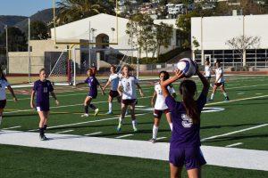 Girls Soccer vs. Laguna Beach 1/26