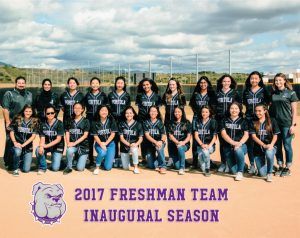 Girls Freshman Softball 2017