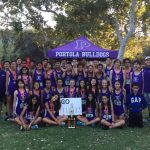 Portola High School Boys Freshman Cross Country finishes 2nd place