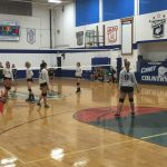 Mackinaw City High School Girls Varsity Volleyball beat Maplewood Baptist Academy 3-1