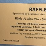 Mackinaw Area Sports Boosters Raffle Tickets Available!