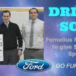 Thank you Fernelius Ford! Drive 4 UR School