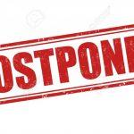 Boys Basketball Game Postponed!