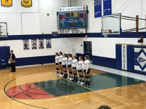 Home Volleyball vs Wolverine 9/17/19