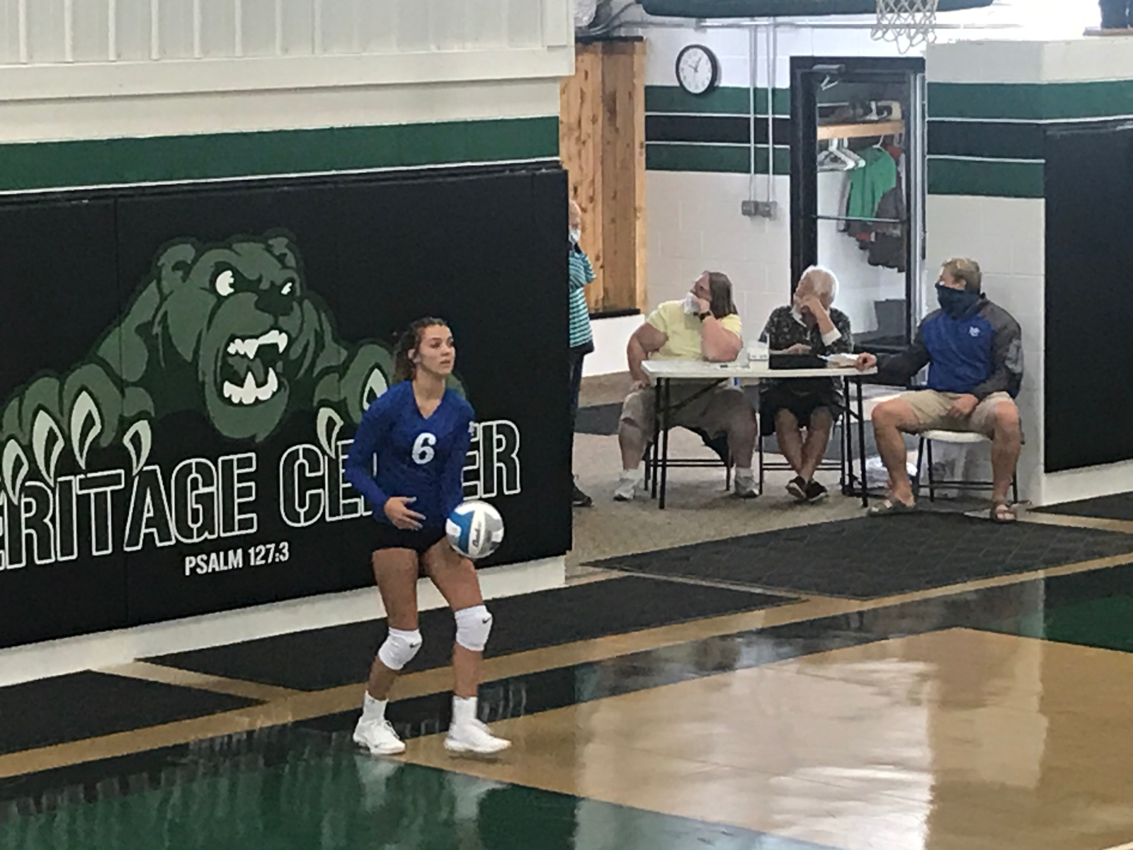 Varsity Volleyball 3-1 win at Maplewood 9/3/20