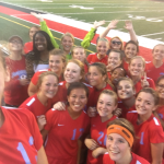 Maconaquah High School Girls Varsity Soccer beat Taylor High School 1-0