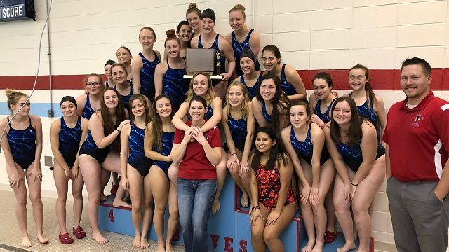 2017-18 TRC Girls Swimming & Diving Champs!
