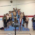 Maconaquah High School Boys Varsity Swimming finishes 1st place
