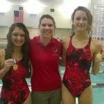 Maconaquah High School Girls Varsity Swimming beat Pioneer Community High School 149-37