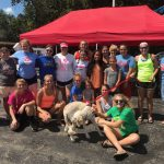 Lady Braves Car Wash Fundraiser a Success