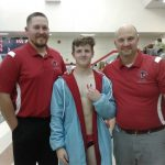 Boys Varsity Swimming beats Manchester 140 – 31