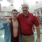 Boys Varsity Swimming falls to Oak Hill 94 – 92