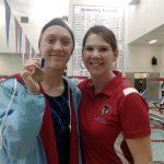Girls Varsity Swimming falls to Oak Hill 97 – 89