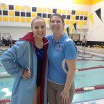 Girls Varsity Swimming beats Pioneer 137 – 48