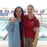 Girls Varsity Swimming beats Logansport 145 – 39