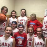 Girls 6th Grade Basketball beats Wabash 42 – 7