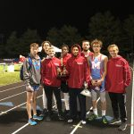 Boys Track Earns Runner Up at Tipton Invite