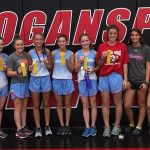 Girls Varsity Cross Country finishes 4th place at Logansport High School