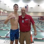 Boys Varsity Swimming beats Tippecanoe Valley 128 – 46