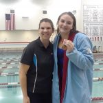 Girls Varsity Swimming beats Wabash 142 – 39