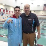 Boys Varsity Swimming beats Lewis Cass 134 – 51