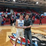 Sam Bourne Earns the Mike McDonald, Indiana Farm Bureau Impact Player-of-the-Game