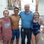 Coed Middle School Swimming beats Delphi Community 102 – 84