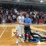 Bryce Ward Earns the Mike McDonald, Indiana Farm Bureau Impact Player-of-the-Game