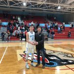 Cole Borden Earns the Mike McDonald, Indiana Farm Bureau Impact Player-of-the-Game