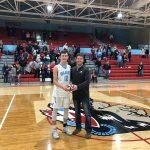 Cole Borden Earns the Mike McDonald, Indiana Farm Bureau Impact Player-of-the-Game