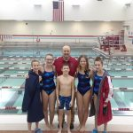 Coed Middle School Swimming beats Oak Hill 103 – 83