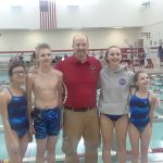Coed Middle School Swimming beats Wabash 138 – 48