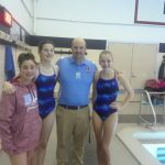 Coed Middle School Swimming falls to Western 96 – 90