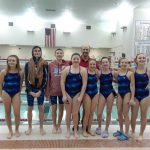 Coed Middle School Swimming beats Logansport 141 – 44