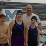 Coed Middle School Swimming beats Carroll 147 – 39