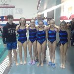 Coed Middle School Swimming beats Lewis Cass 133 – 53