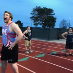 Boys' Track Competes in 1st Contest of the Season