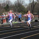 Boys' Track Has Positive Showing at Big Orange