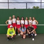 Girls Varsity Tennis beats Northfield 3 – 2