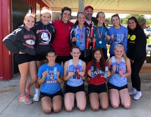 Girls Varsity XC Crowned  Jacob Graf Memorial Invitational Champions
