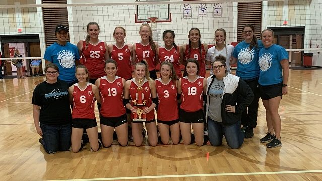 Mac Volleyball Wins the Championship at Rossville Invite