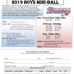 Mini-Ball Info for 2nd-5th Grade