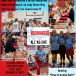 Lady Braves Basketball Camp Time Change
