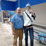 Boys Varsity Swimming beats Carroll 142 – 31