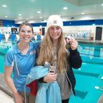 Girls Varsity Swimming beats Carroll 137 – 48