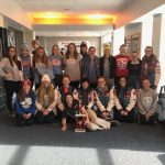 Girls Varsity Swimming Finishes 1st place at Twin Lakes Relays
